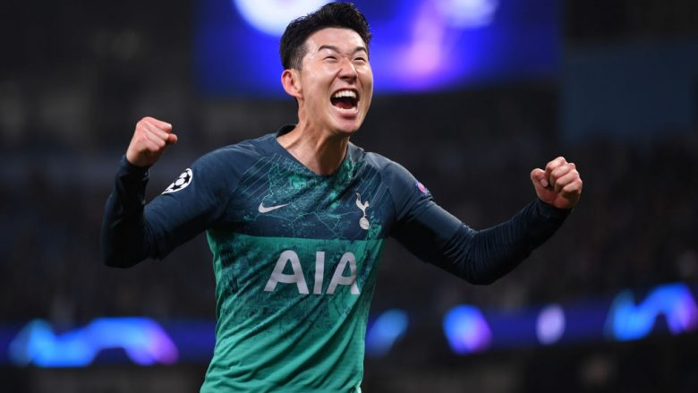 Heung-Min Son (Foto: Laurence Griffiths/Getty Images/Guliver)