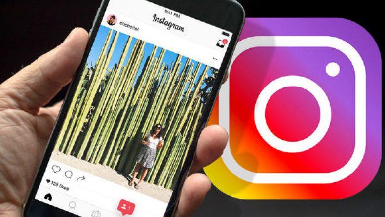 Instagram po punon për fshehjen e materialeve të papërshtatshme