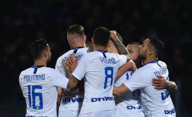 Triumfi ndaj Frosinones e vë Interin në pozitë të mirë drejt kualifikimit në Ligën e Kampionëve