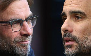 Ndeshjet e mbetura të Liverpoolit dhe Cityt në garën për titullin e Ligës Premier