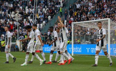 Juventusi fiton me rikthim ndaj Fiorentinës dhe shpallet matematikisht kampion në Serie A