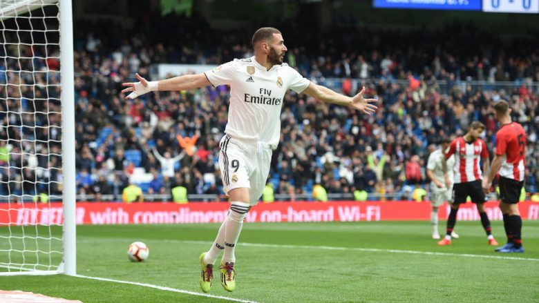 Karim Benzema (Foto: Denis Doyle/Getty Images/Guliver)