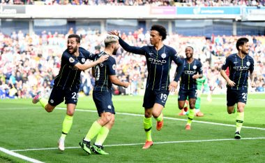 Man City fiton me vështirësi ndaj Burnleyt dhe rimerr pozitën e parë