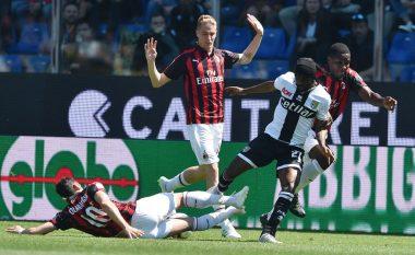 Milani ndalet me barazim nga Parma