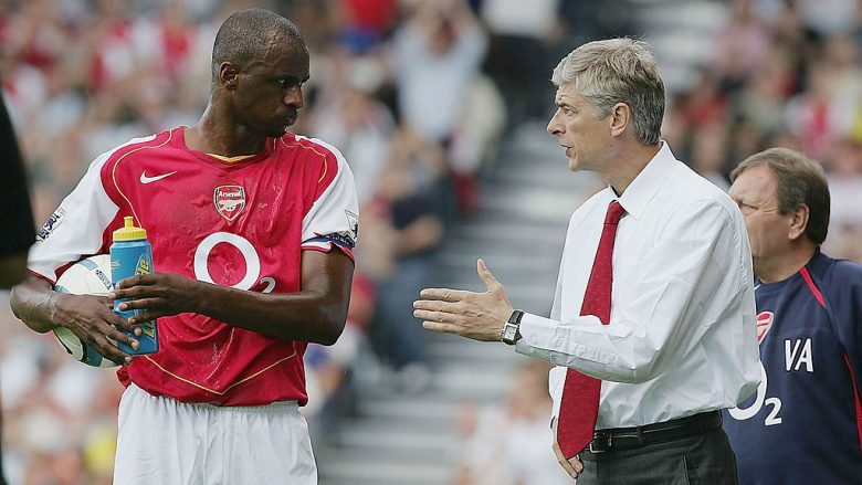 Patrick Vieira dhe Arsene Wenger (Foto: Phil Cole/Getty Images/Guliver)