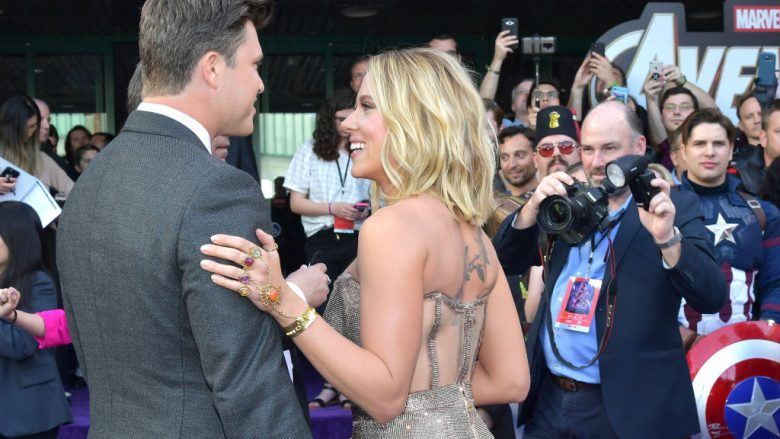 Colin Jost dhe Scarlett Johansson (Foto: Amy Sussman/Getty Images/Guliver)