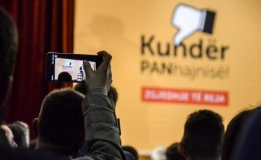 Vetëvendosje proteston kundër kryeprokurorit Lumezi