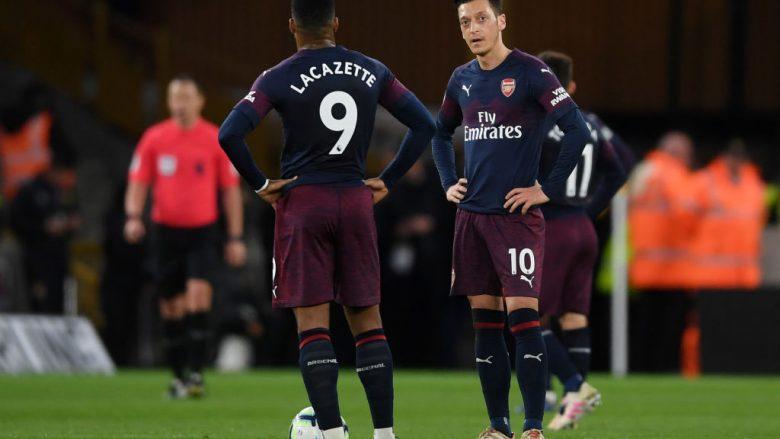 Zhgënjimi i lojtarëve të Arsenalit (Foto: Laurence Griffiths/Getty Images/Guliver)