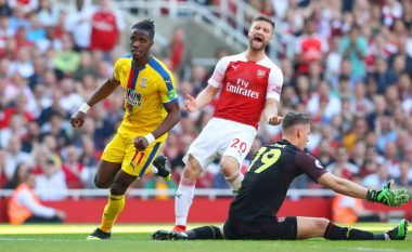 Arsenal 2-3 Crystal Palace, notat e lojtarëve