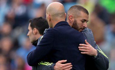 Zidane: Për mua, Benzema është9-shi më i mirë në botë për momentin