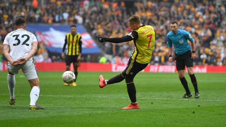 Momenti i golit nga Deulofeu (Foto: Watford)