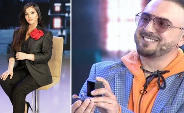 Gjiko e befason Elitën me puthje dhe unazë 'live' në emision: A do të jesh gruaja ime deri në plakje?
