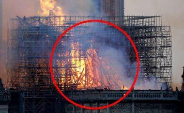 Një nënë pretendon se kishte parë Jezusin në flakët e katedrales së Notre Dame (Foto)