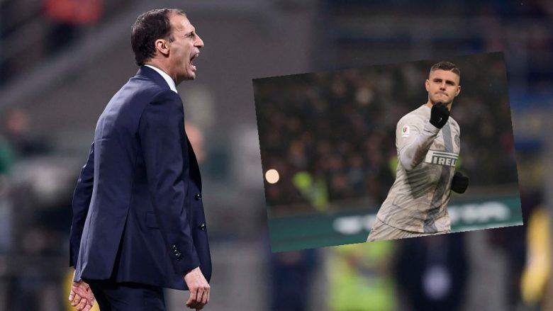 Massimiliano Allegri thotë se lojtarët e tij duhet të kenë kujdes nga Icardi.  (Foto:Daniele Badolato - Juventus FC/ Getty Images/Guliver)