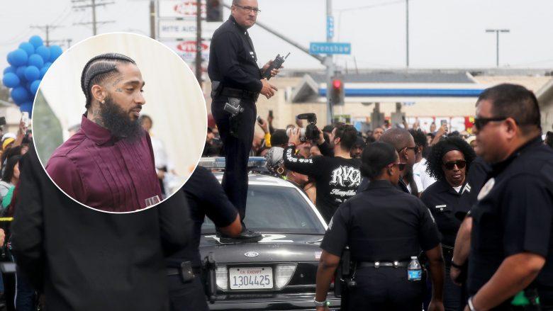 Funerali i reperit të ndjerë Nipsey Hussle (Foto: Mario Tama/Getty Images/Guliver)
