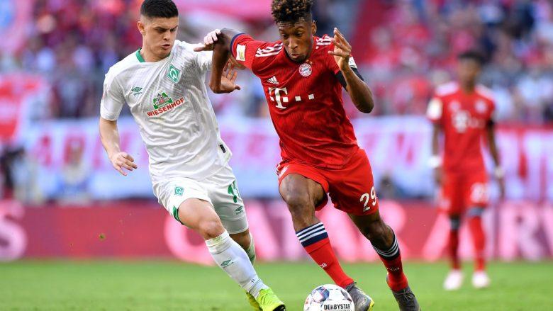 Rashica dhe Coman gjatë një dueli (Foto: FC Bayern/Twitter)