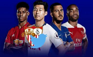 Sevilla bën shaka nëpërmjet Twitterit me ekipet angleze të cilat po luftojnë për një vend që dërgon në LK në sezonin e ri