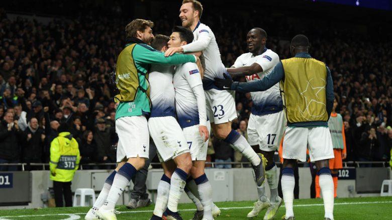 Festa e lojtarëve të Tottenhamit (Foto: Mike Hewitt/Getty Images/Guliver)