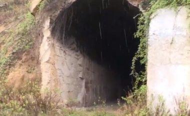 Në tunelet ku fshiheshin grabitësit e miliona eurove në aeroportin e Rinasit (Video)