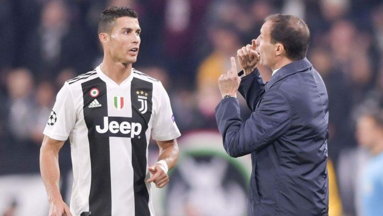 Allegri: E vështirë të shënojë gol ndonjë lojtar tjetër kur Ronaldo është në fushë