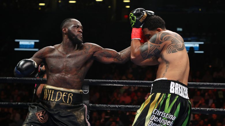 Deontay Wilder (Foto: Al Bello/Getty Images/AFP)