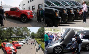 Qeveria meksikane shet në ankand veturat, helikopterët dhe aeroplanët e narko-kartelëve, paratë e mbledhura do t'i dhurohen familjeve të varfra (Foto/Video)