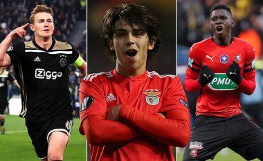 Dhjetë talentet e mëdhenj që mund të ndryshojnë skuadra gjatë verës, nga De Ligt te Felix dhe Aouar