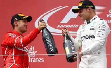 Vettel pritet të pensionohet në fund të sezonit, Bottas do ta zëvendësonte te Ferrari