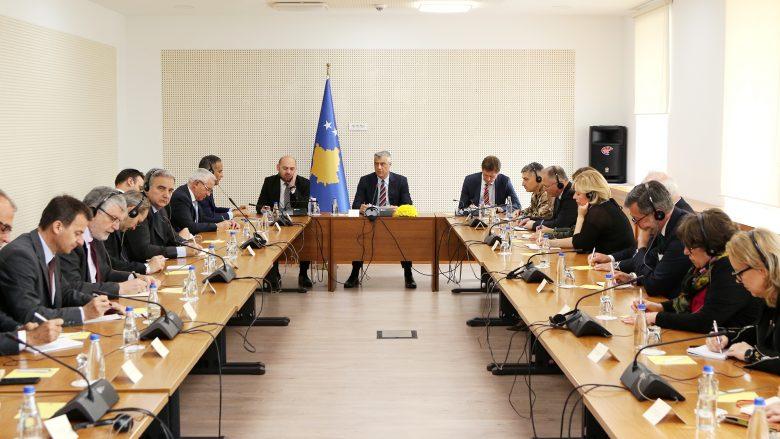 Thaçi kërkon unitet ndërkombëtar për Kosovën