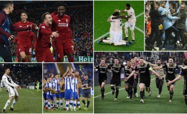 Edicioni më i çmendur në histori të Ligës së Kampionëve – rikthime, gola dhe emocione pa fund