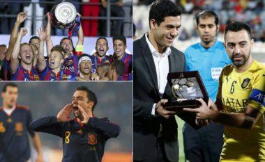 Lamtumira e gjeniut: Dhjetë momentet më të bukura të Xavit në karrierën e tij si futbollist