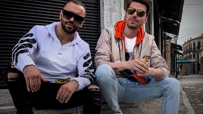 2 Ton dhe Alban Skënderaj (Foto: Instagram/2tonofficial)