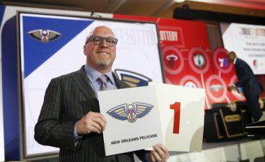"""Nicksat përsëri më tragjikët - Pelicansave iu takon basketbollisti i parë i """"NBA Draft"""""""