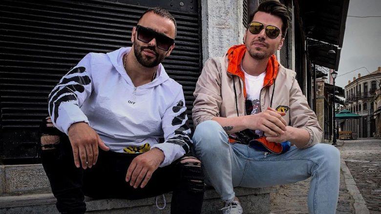 2Ton dhe Alban Skenderaj (Foto:Instagram/albanskenderaj)