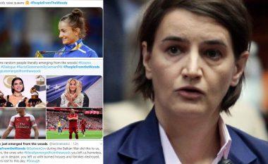 Pas fyerjes që u bëri shqiptarëve, fillojnë talljet ndaj Brnabiqit në Twitter