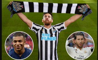 Tifozët e Newcastle po ëndërrojnë –Mbappe, Messi e Ramos janë top dëshirat e 'laraskave' pas blerjes së klubit nga sheiku