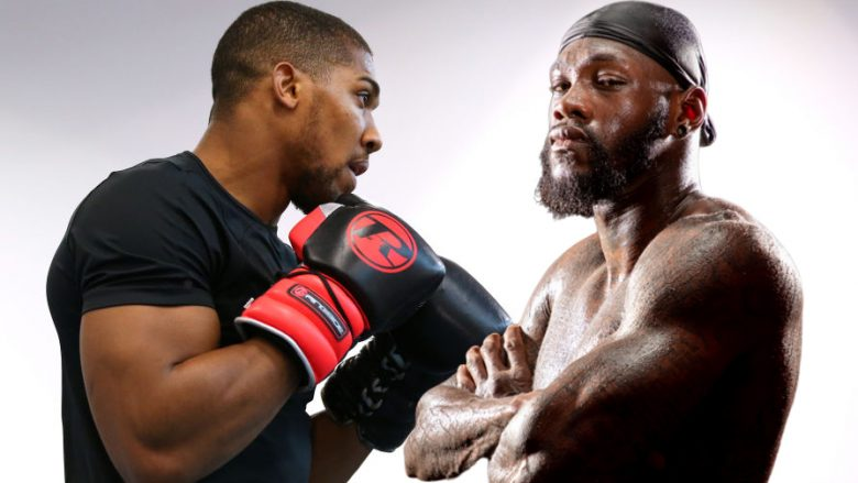 Anthony Joshua, Deontay Wilder (Fotomontazh: Getty Images/Guliver)