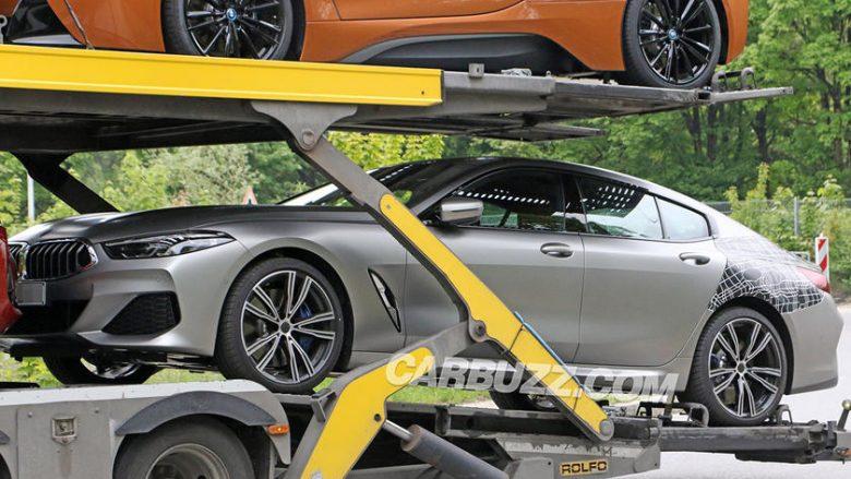 BMW 8 Series kapet me shumë pak shtresa kamuflazhi (Foto)