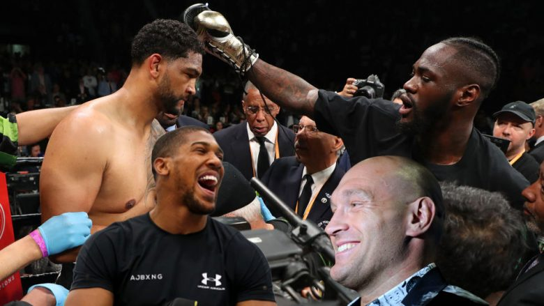 Dominic Breazeale, Deontay Wilder, Anthony Joshua, Tyson Fury (Fotomontazh: Getty Images/Guliver)