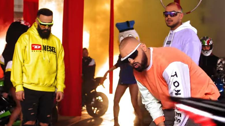 Ghetto Geasy, Majk dhe Onat në klipin e ri (Foto: YouTube)