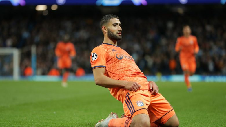 Nabil Fekir .  (Photo by Richard Heathcote/Getty Images)