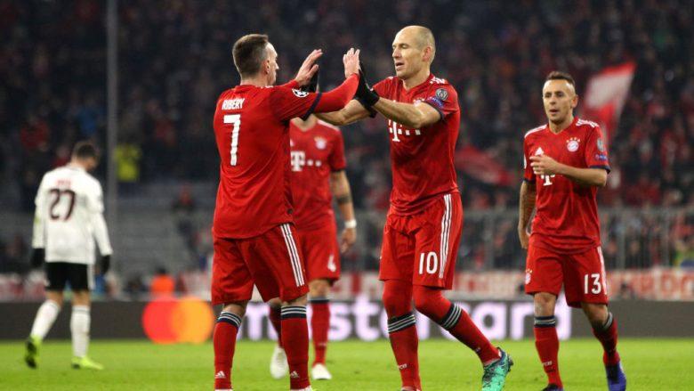 Franck Ribery dhe Arjen Robben.  (Photo by Adam Pretty/Getty Images)