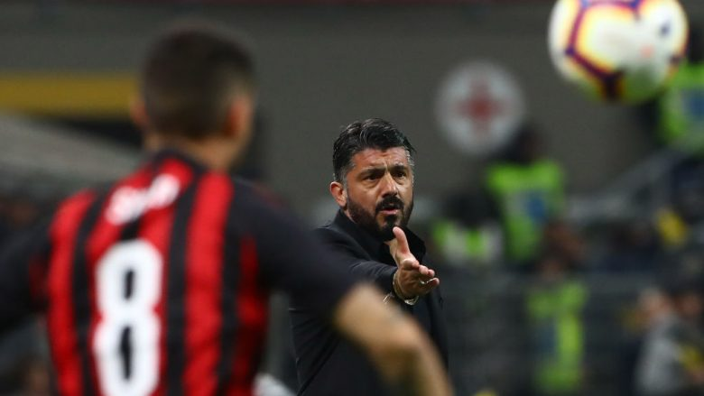 Gennaro Gattuso .  (Photo by Marco Luzzani/Getty Images)