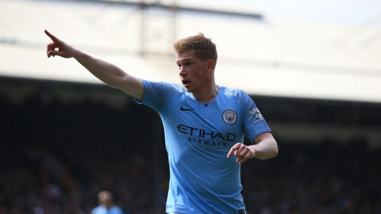 Kevin De Bruyne. (Photo by Marc Atkins/Getty Images)