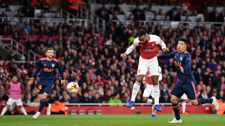 Arsenal - Valencia . (Photo by Justin Setterfield/Getty Images)