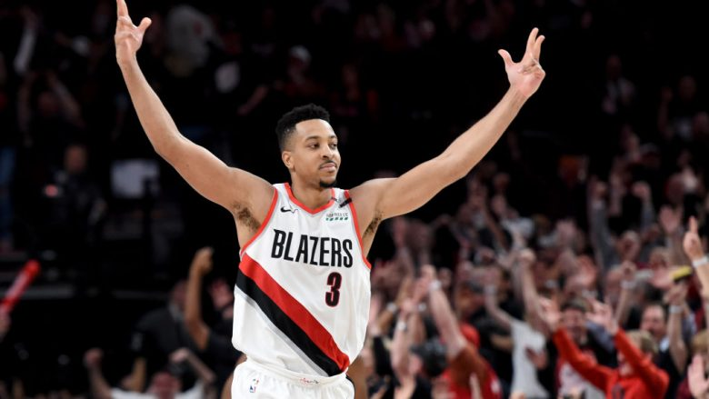 CJ McCollum. (Photo by Steve Dykes/Getty Images)