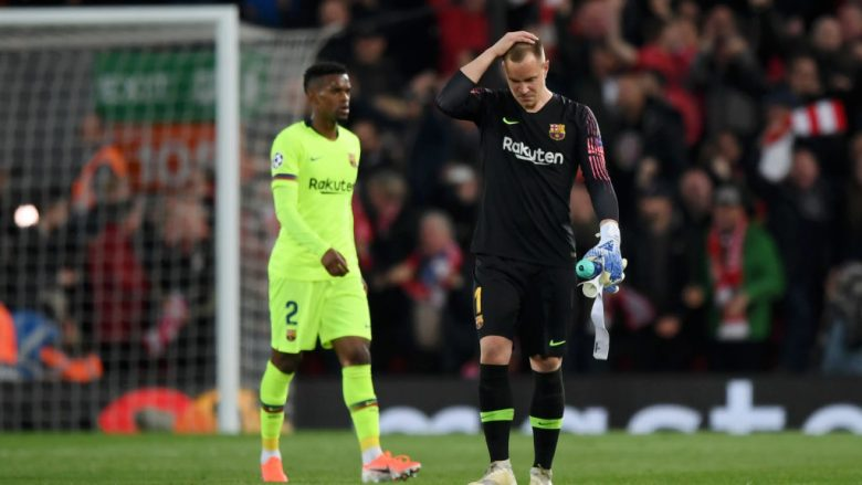 Ter Stegen. (Photo by Shaun Botterill/Getty Images)