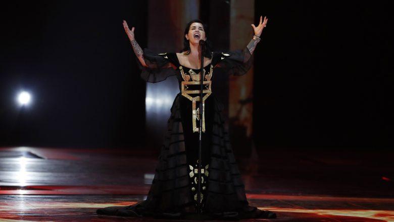 "Jonida Maliqi në ""Eurovision 2019"" (Foto: Michael Campanella/Getty Images/Guliver)"