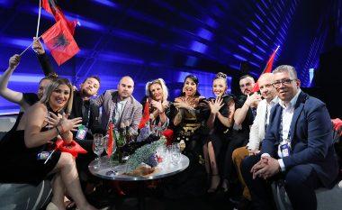 """Shqipëria e 18-ta në finalen e """"Eurovision 2019"""""""
