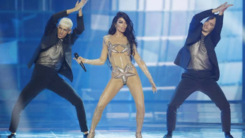"Eleni Foureira në ""Eurovision 2019"" (Foto: Michael Campanella/Getty Images/Guliver)"